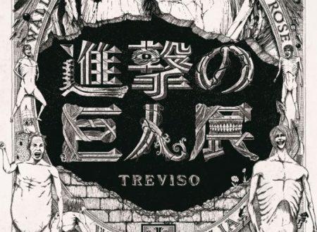 """Shingeki No Kyojin"" arriva in Italia, a Treviso e Lucca!"