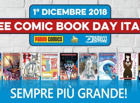 Panini Free Comic Book Day 2018