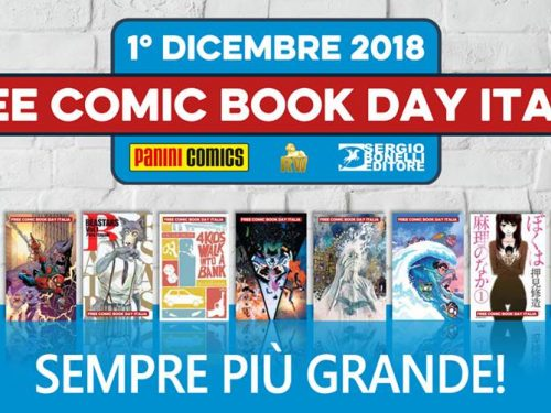 Panini Free Comic Book Day 2018