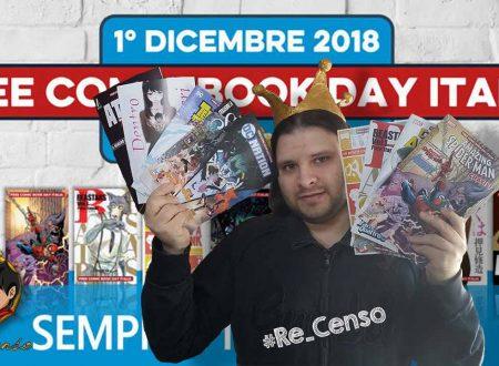 @Re_Censo #192 Ecco il #FreeComicBookDay 2018