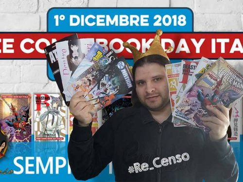 @Re_Censo #192 Ecco il #FreeComicBookDay 2018