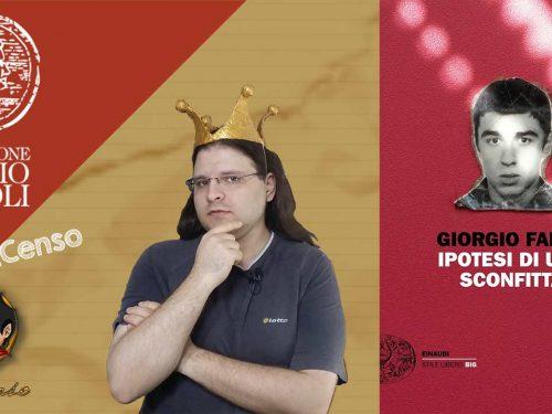@Re_Censo #184 Ipotesi di una sconfitta | Premio Napoli