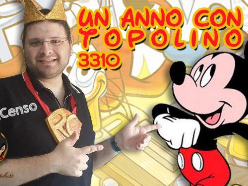 @Re_Censo #234 Un anno con TOPOLINO | 3310