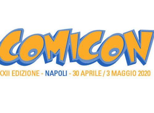 Nuovi biglietti per il NAPOLI COMICON 2020!