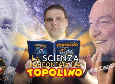 @Re_Censo #271 La Scienza raccontata da TOPOLINO e PIERO ANGELA