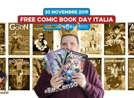 @Re_Censo #290 Ecco il #FreeComicBookDay Italia 2019