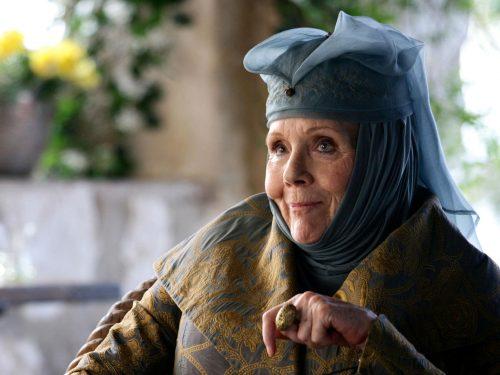 Morta Diana Rigg, addio a Lady Olenna Tyrell, la Regina di Spine.