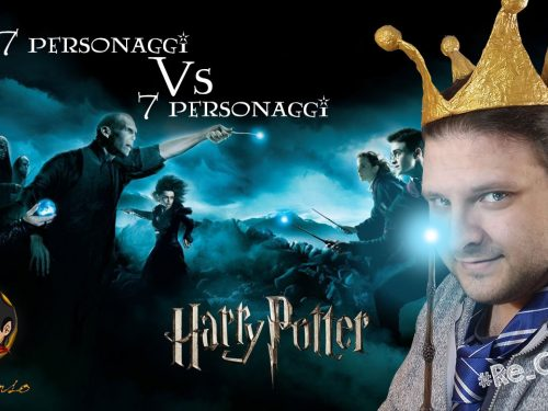 @Re_Censo #323 HARRY POTTER – 7 personaggi vs 7 personaggi