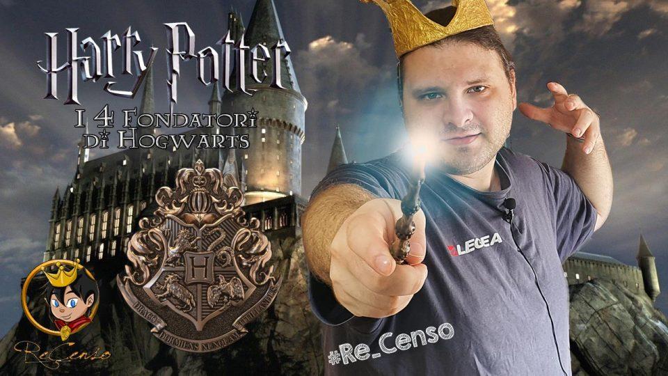 @Re_Censo #331 HARRY POTTER - i Memorabilia dei 4 Fondatori di Hogwarts